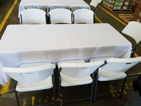 Tables Amp Chair Rentals El Paso Tx Tents Amp Events El